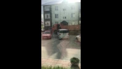 Жители Дальнего скамейками иавтомобилями перекрывают путь большегрузам