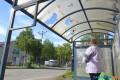 В Поронайске отремонтируют антивандальные автобусные остановки