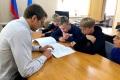 Мэр Анивы Артем Лазарев рассказал школьникам остроительстве скейт-парка