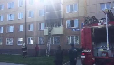 Пожарные вызволили собаку изсгоревшей квартиры напроспекте Мира вЮжно-Сахалинске