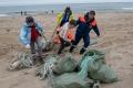 Волонтеры очистили побережье врайоне залива Чайво
