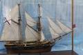 """Житель Корсакова подарил местному музею модель транспортного судна """"Байкал"""""""