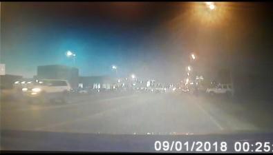 В аварии наперекрестке Железнодорожной иПуркаева вЮжно-Сахалинске перевернулся автомобиль
