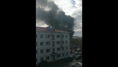 В Корсакове потушили пожар наулице Гвардейской