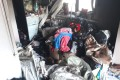 В Луговом ликвидировали возгорание вмногоквартирном доме