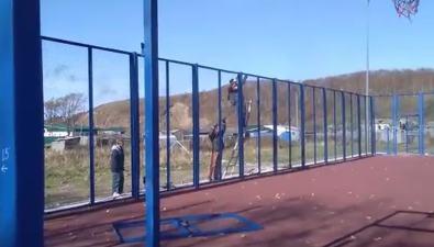 Жители села Новиково испугались разбора недоделанной спортплощадки