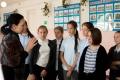 Школьникам Троицкого рассказали оЧехове иПушкине