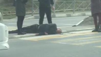 Пешехода сбили наперекрестке улиц Есенина иКомсомольской вЮжно-Сахалинске