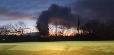 Городская свалка полыхает сночи вЮжно-Сахалинске