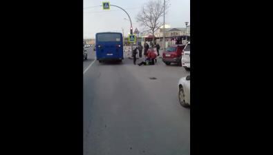 В Южно-Сахалинске пассажирский автобус сбил женщину