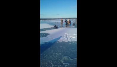 На Малом Буссе спасли рыбака, провалившегося подлед