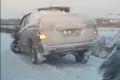 Обледеневшая дорога наулице Фархутдинова привела ксерьезному ДТП