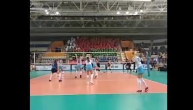 """""""Сахалин"""" показал сумасшедший волейбол ивырвал победу вМинске"""