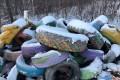 Свалку изпокрашенных шинобнаружили наюге областного центра