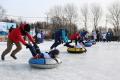 В городском парке Корсакова спортивным праздником отметили день снега