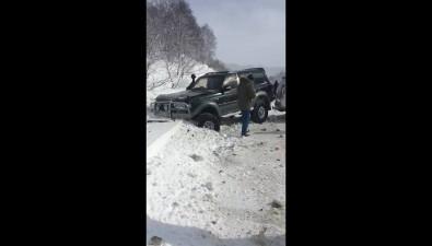 Четыре автомобиля столкнулись нахолмской трассе