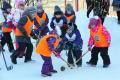 В Аниве завершился муниципальный этап турнира похоккею вваленках