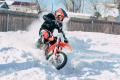 Открытая тренировка юных мотоциклистов ЦТВС вдохновила новичков