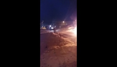 Toyota Corolla сгорела утром вНово-Александровске