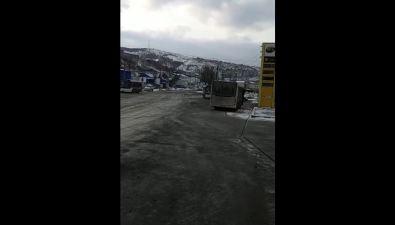 """Холмчане утром недождались автобусов МУПЖКХ """"Мастер"""""""