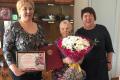Жительница Томари Мария Шаброва отпраздновала 90-й день рождения
