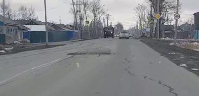 """Автомобилистам Южно-Сахалинска доиюля нужно потерпеть """"волнистый"""" переулок Отдаленный"""