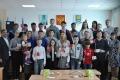 Жителям Невельска торжественно вручили знаки отличия ГТО