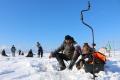 Сахалинские любители рыбалки посоревновались наБольшом Буссе