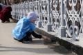 В городском парке Южно-Сахалинска провели субботник