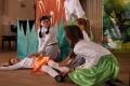 Юным холмчанам воспитанники детской школы искусств показали поучительную сказку
