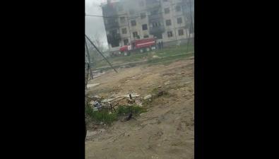 В Охезагорелся расселенный дом
