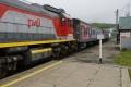 Первый пассажирский поезд опробовал широкую колею Сахалина