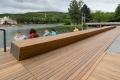 Городской парк Южно-Сахалинска презентовал новую набережную иготовится открыть теннисные корты