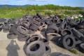 В районе Старорусского обнаружили свалку автопокрышек идругого мусора