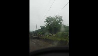 Автомобиль Toyota Mark II утром вылетел вкювет вЧехове