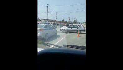 Реанимация спострадавшими уехала сместа ДТПна Холмском шоссе