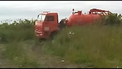 В Холмском районе коммунальщики вновь сливают фекалии вТатарский пролив