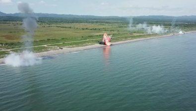 На Сахалине провели самые масштабные вистории тактические учения пообороне острова