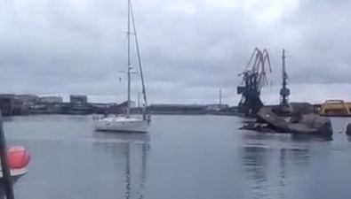 Японские яхтсмены добрались доСахалина безприключений