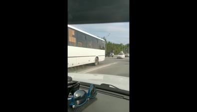 Южносахалинец встретил сразу дведорожные аварии задвадцать минут езды погороду