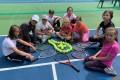Сахалинские теннисисты сгорем пополам пришли ккомпромиссу набесплатных кортах впарке