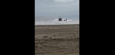 На Сахалине вовремя погони катер береговой охраны протаранил лодку срыбаком