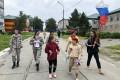 В Анивском районе продолжают отмечать День российского флага