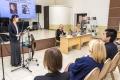 Читательская конференция, посвященная 70-летию содня рождения Харуки Мураками, прошла вЮжно-Сахалинске