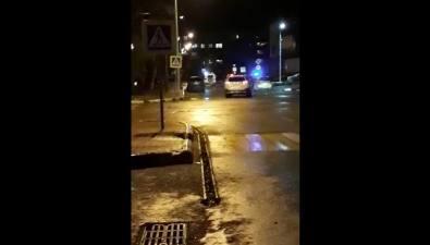 Полицейским Корсакова пришлось применить оружие, чтобы остановить автомобиль