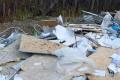 Возле сахалинского водопада устроили свалку иоставили улику