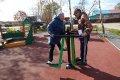 В Елочках иКлючах обустроили спортивные иигровые площадки длялюдей всех возрастов