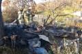 В горящем дачном доме вселе Яблочном обнаружено тело мужчины