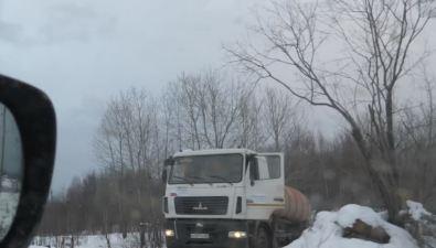 Восточнее села Кировского зафиксировали слив отходов