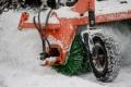 Южно-Сахалинск чистят отснега
